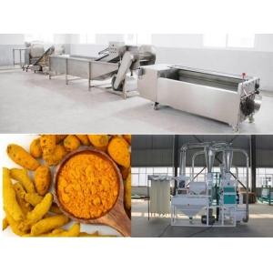 Dây chuyền sản xuất bột nghệ